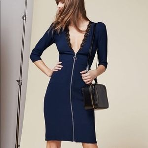 Reformation Dresses - Reformation Gamay Dress with Plunging Neckline